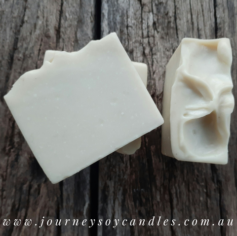 Bare Essentials - Goats Milk, Organic Hempseed & Avocado Oils - JOURNEY artisan soaps & candles