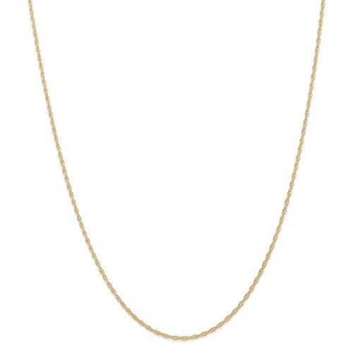 14k Yellow Gold 1.35mm Cable Rope Bracelet Anklet Necklace Choker Pendant Chain