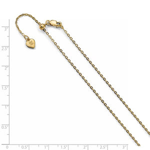 Sterling Silver Gold Plated 1.4mm Adjustable Cable Bracelet Anklet Necklace Choker Pendant Chain