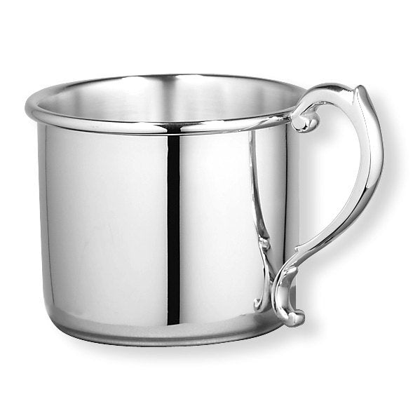 Sterling Silver Heavy Gauge Baby or Child Cup Engraved Personalized Monogram