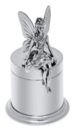 Load image into Gallery viewer, Sterling Silver Baby Child Tooth Fairy Box Custom Engraved Personalized Monogram