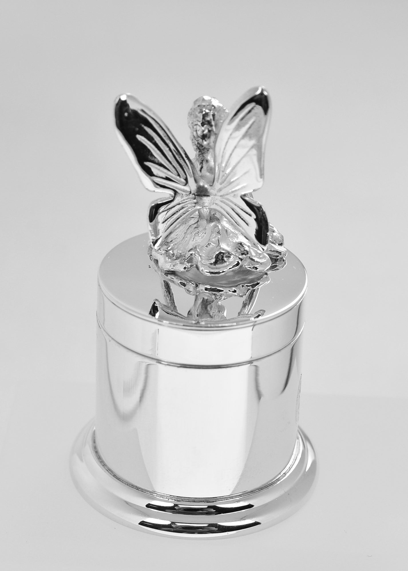 Sterling Silver Baby Child Tooth Fairy Box Custom Engraved Personalized Monogram