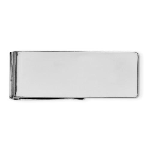 Engravable Solid Sterling Silver Money Clip Personalized Engraved Monogram JJ98