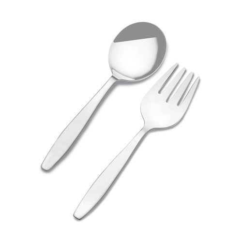 Sterling Silver Baby Child Fork and Spoon Flatware Set Engraved Personalized Monogram