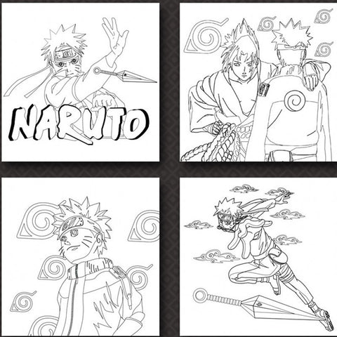 Naruto Coloring Book