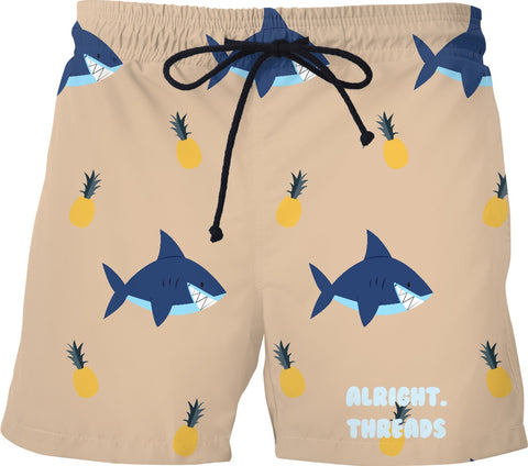 Sharks and Pineapples Swimmies
