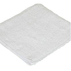 Shop Towels - White Terry Cloth