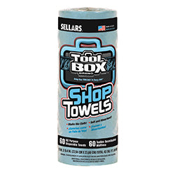 Shop Towels - Disposable 60 Sheet Rolls