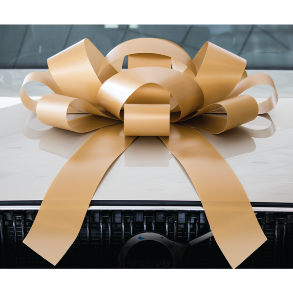 JUM-BOW Magnetic Car Bow - Gold