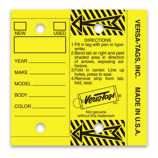 Versa-Tag Key Tags