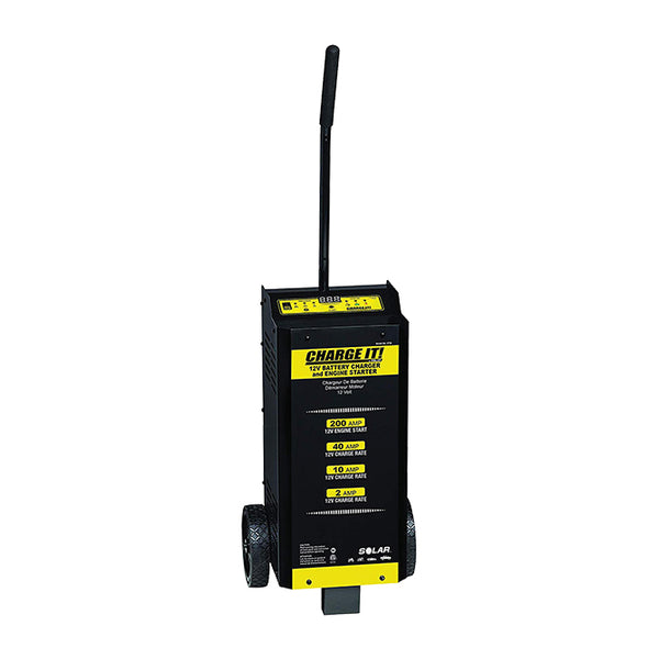 Intelligent Wheeled Charger w/Engine Start - PL3730