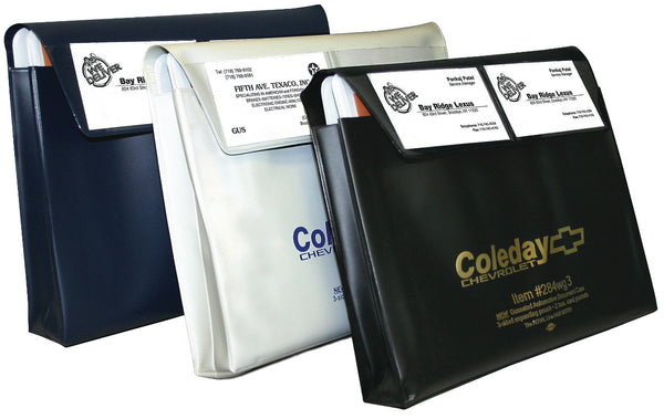 Custom Expandable Vinyl Document Holders