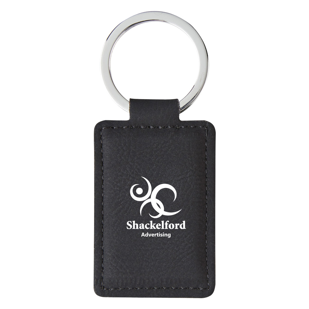 Leatherette Executive Key Tag