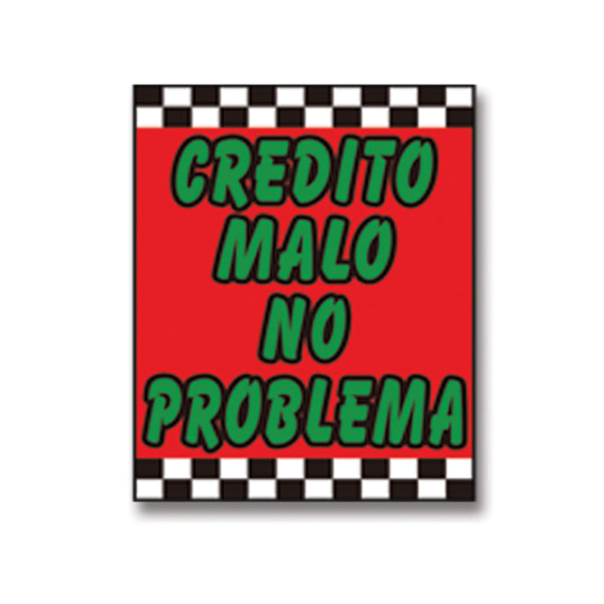 Under Hood Sign - Credit Malo No Problema