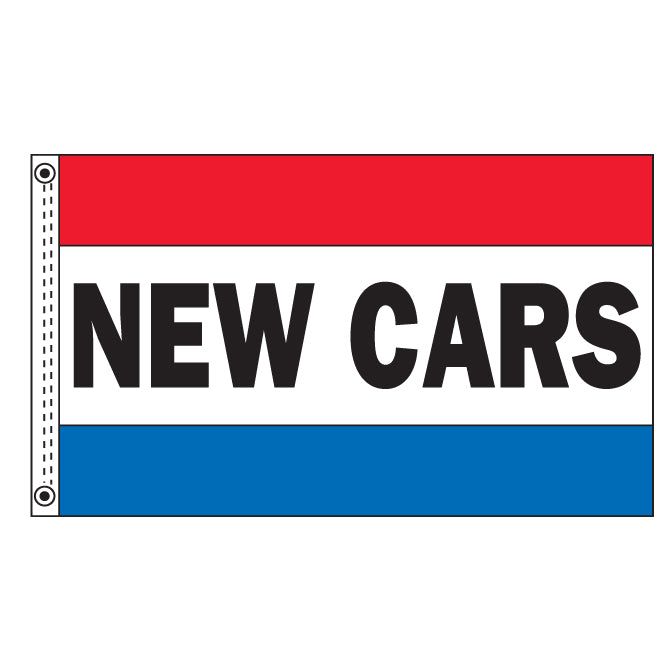 Premium Nylon Flag - New Cars