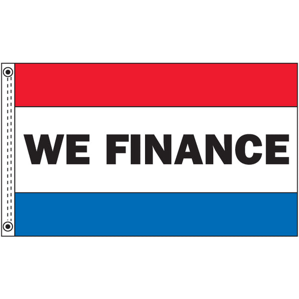 Premium Nylon Flag - We Finance