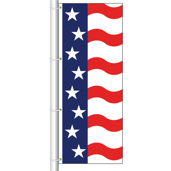 Drape Flag - Patriotic B