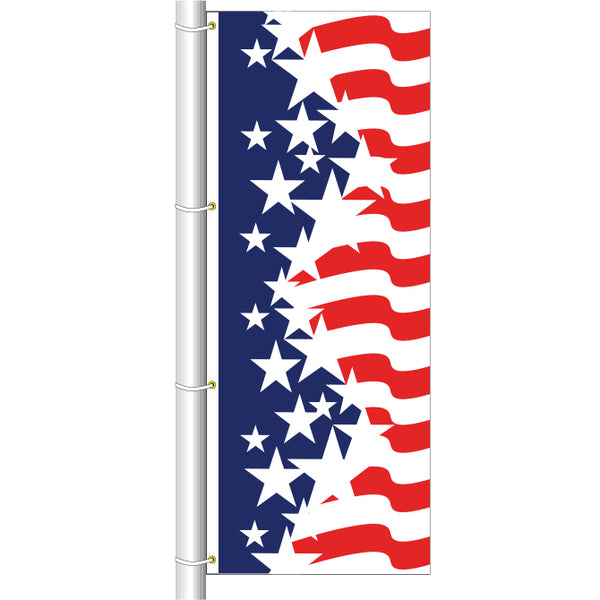 Drape Flag - Patriotic A