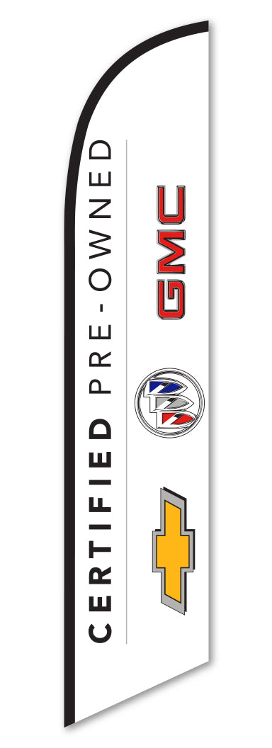 Swooper Flag - Certified Pre Owned GM