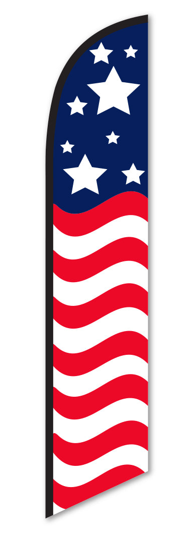 Swooper Flag - Stars and Stripes