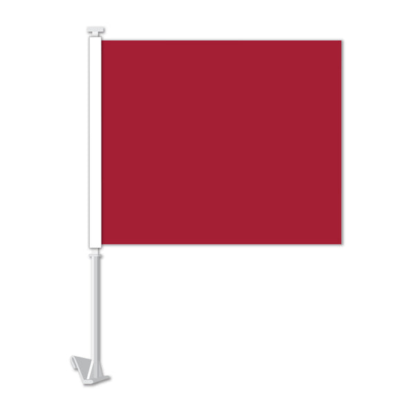 Clip On Window Flag - Red