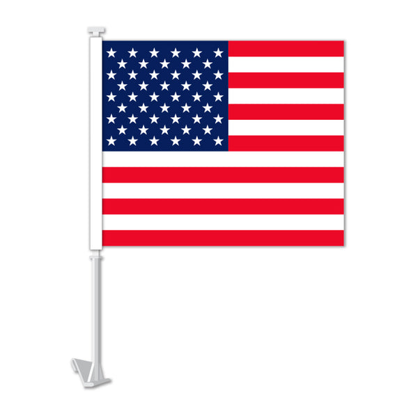 Clip On Window Flag - US Flag