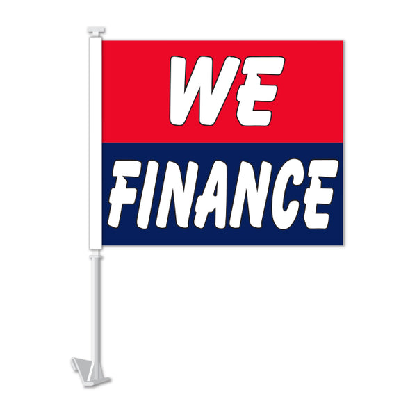 Clip On Window Flag - We Finance