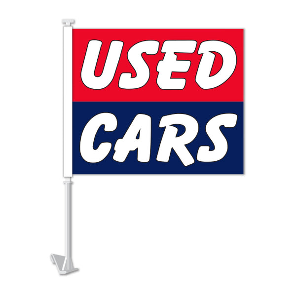 Clip On Window Flag - Used Cars