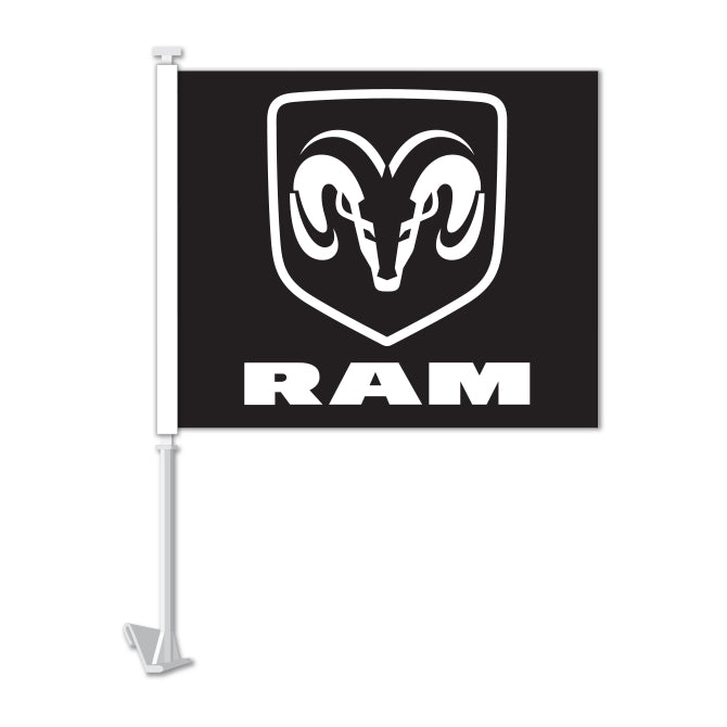 Clip On Window Flag - RAM