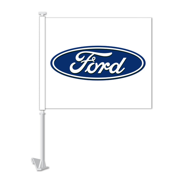 Clip On Window Flag - Ford