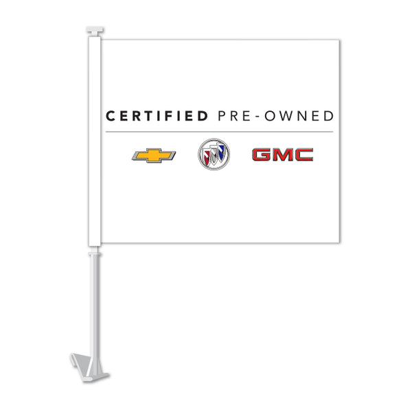 Clip On Window Flag - GM Certified Used Vehicles