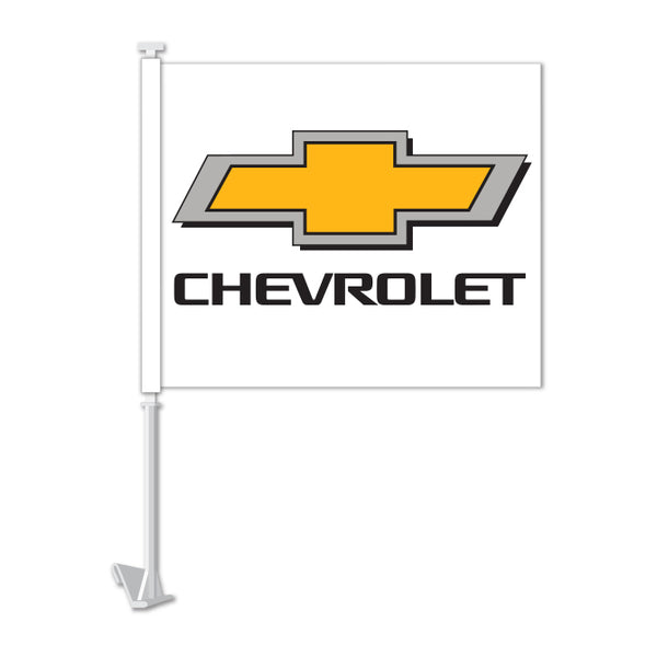 Clip On Window Flag - Chevrolet