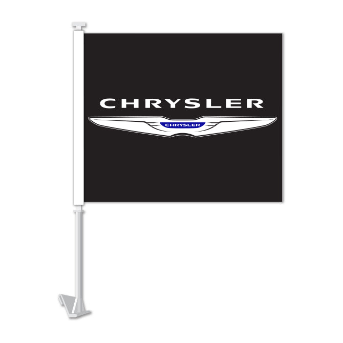 Clip On Window Flag - Chrysler
