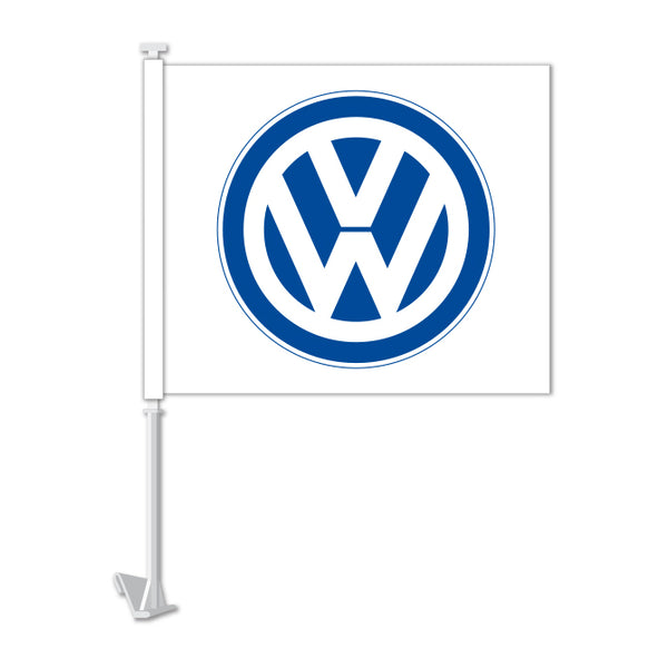Clip On Window Flag - Volkswagen