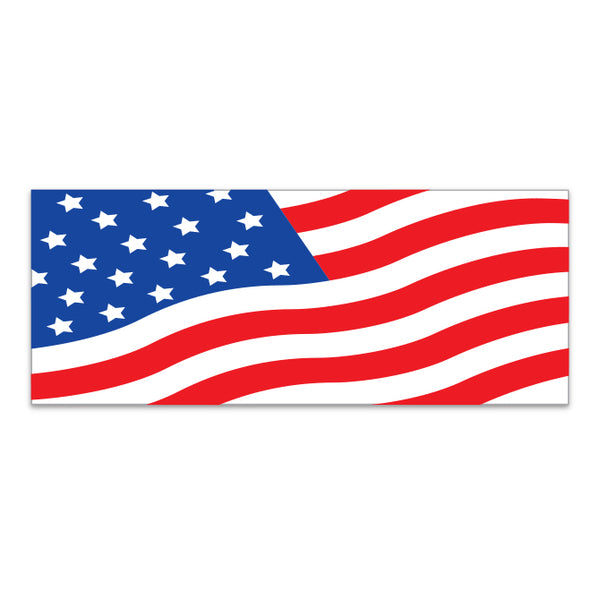 Windshield Banner - American Flag