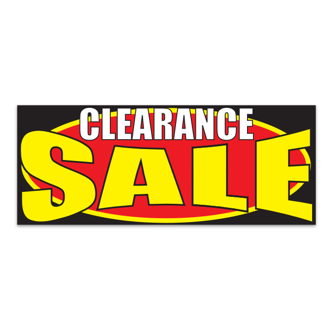 Windshield Banner - Clearance Sale