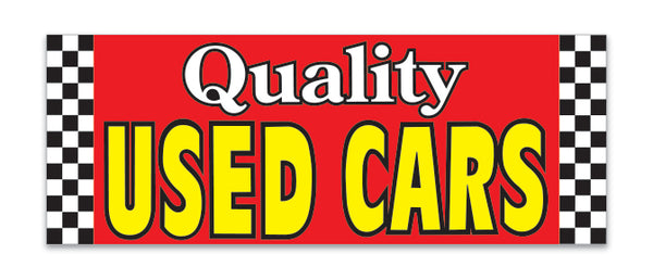 Giant Fabric Banner - Quality Used Cars
