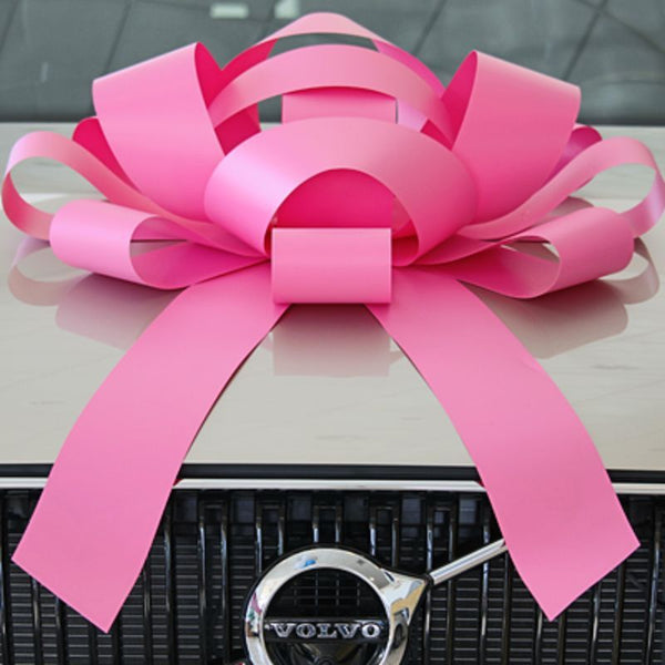 JUM-BOW Magnetic Car Bow - Pink