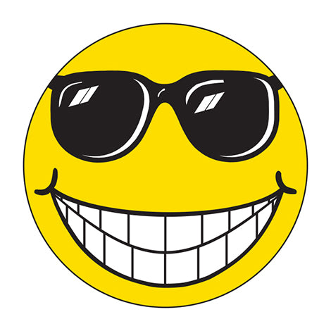 Happy Face with Sunglasses