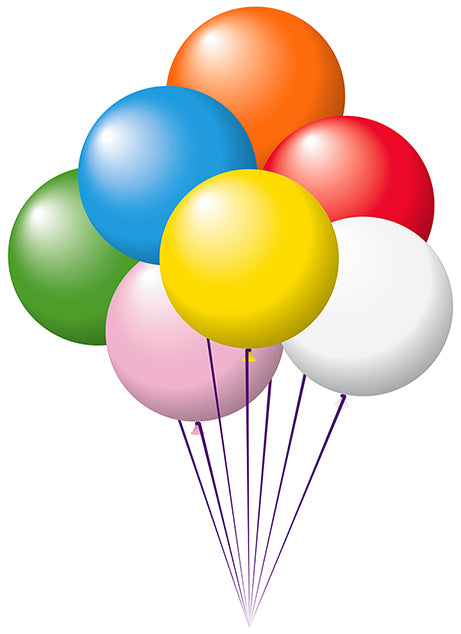 "17"" Latex Balloons Tuf-Tex - Assorted Colors"