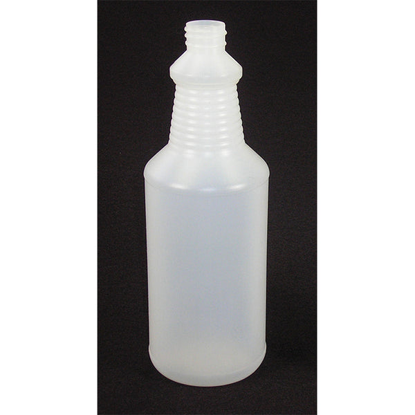 Clear Quart Bottle with Chemical Resistant Sprayer