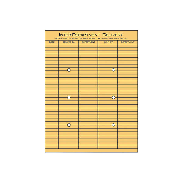 "Interoffice Envelope - 10"" x 13"" - Qty.100 per Box"
