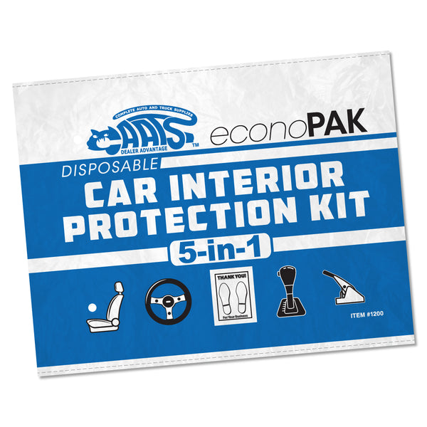 Disposable Car Interior Protection Kit