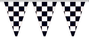 Checkered Pennants - Triangle