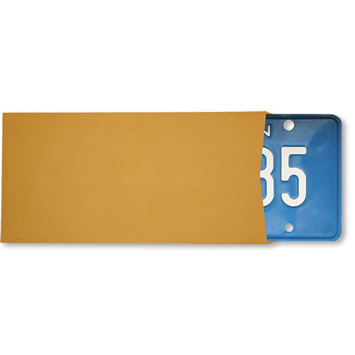 License Plate Envelope - Plain