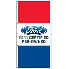 Drape Flags (Stacked Style) - Ford Certified Pre Owned