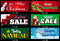 Holiday Windshield Banner