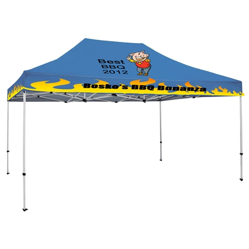 15 x 10 ft. Tent Full-Color Canopy with 40mm Aluminum Frame