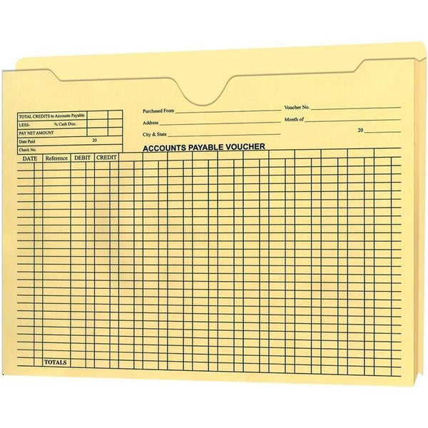 "Accounts Payable Voucher Envelopes - 1"" Expandable"
