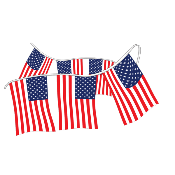 American Flag Pennants – Supreme Cloth
